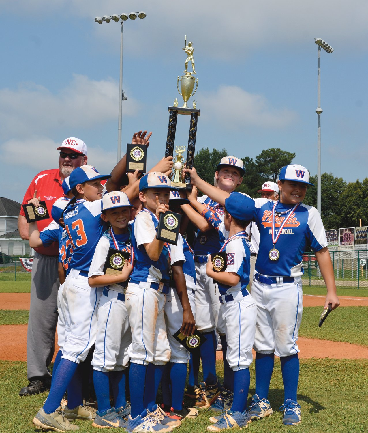 Whiteville Wins Title The Daily Record