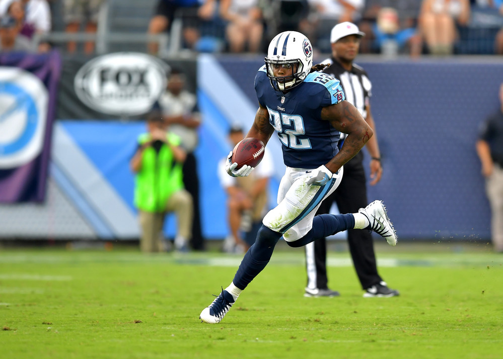 From the second half of the Seattle Seahawks at Tennessee Titans NFL football game on Sept. 24, 2017, at Nissan Stadium in Nashville, Tenn. The Titans won 33-27. (Photo by Lee Walls / Walls Media)