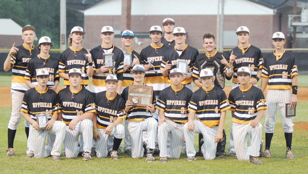 The Upperman baseball team poses with its District 8-AA championship ...