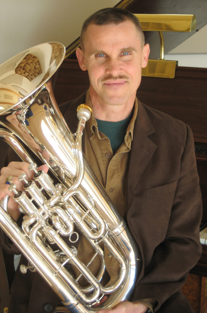 Neal Cornwell will present a concert on the euphonium Monday.