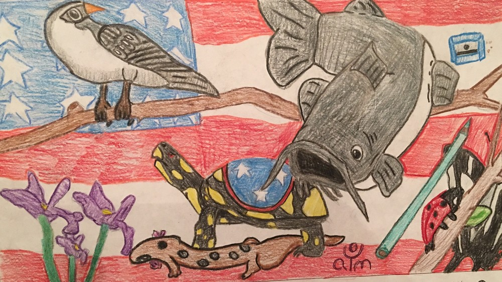 The artwork of Exaviea Grasty, a sixth grade student at Upperman Middle School, will be among those featured in the Sally Crain-Jager Putnam County Schools Student Art Exhibition, which opens Tuesday at Cookeville Performing Arts Center.
