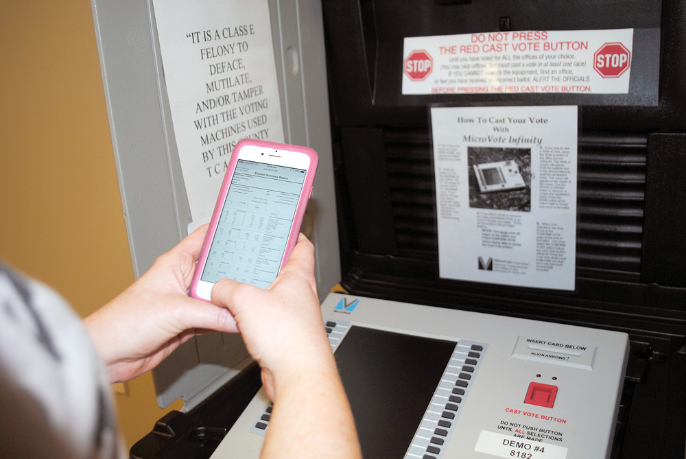 Proposed state legislation would make changes in the use of cell phones while voters cast ballots at the polls. .