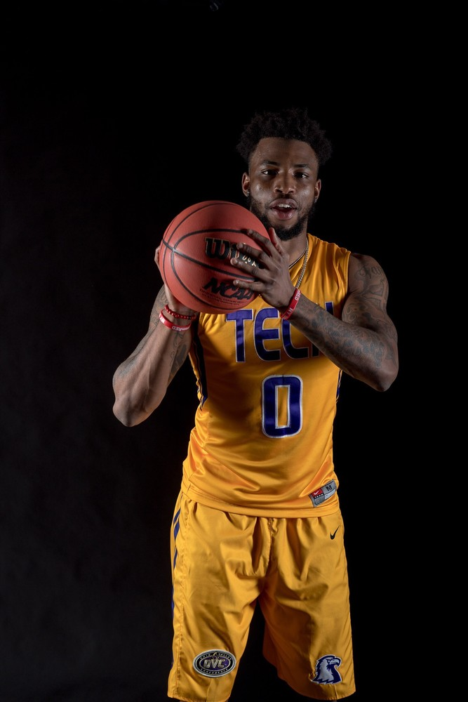 Shaq Calhoun has signed a national letter of intent to play basketball next year at Tennessee Tech. He is a graduate transfer from the University of South Alabama.
