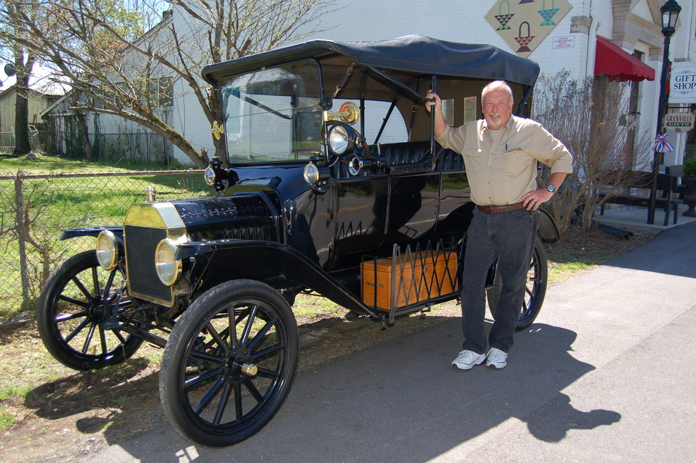 Granville Heritage Day will feature Bruce Carter's 1915 Model T Ford on May 27.