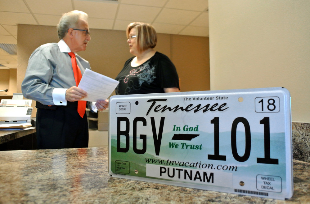 In God We Trust plates now available | Herald Citizen