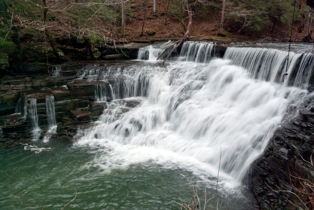 The 20-foot waterfall at Window Cliffs State Natural Area is a popular destination for hikers. A Mississippi man collapsed on the strenuous trail on Tuesday afternoon.