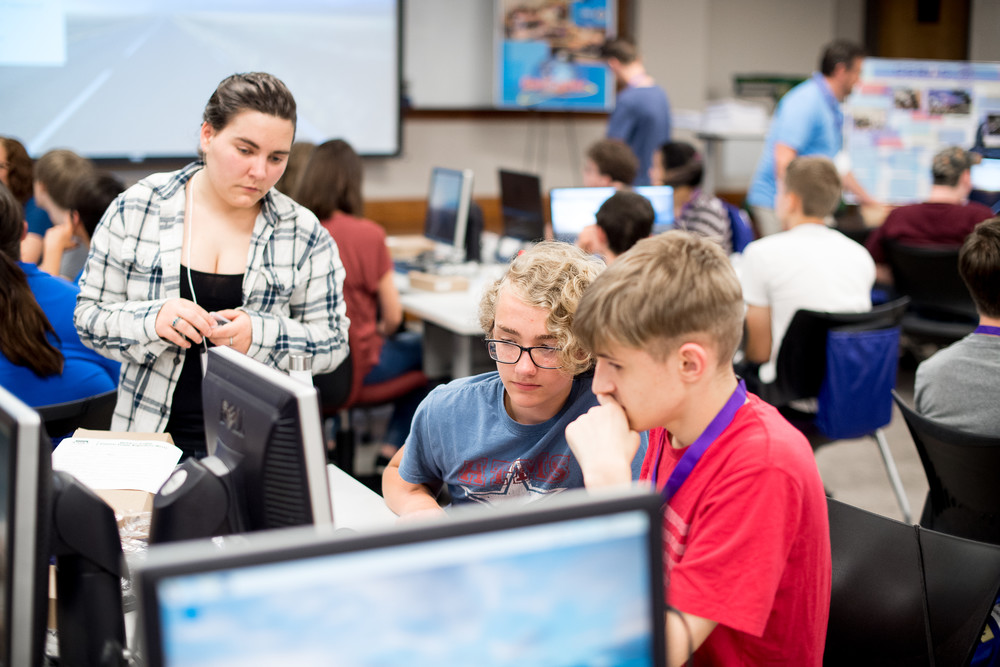 Middle and high school students, along with various teachers and counselors from the Upper Cumberland region, are being educated and trained on cybersecurity this week at Tennessee Tech's Gen-Cyber Combination Camp.