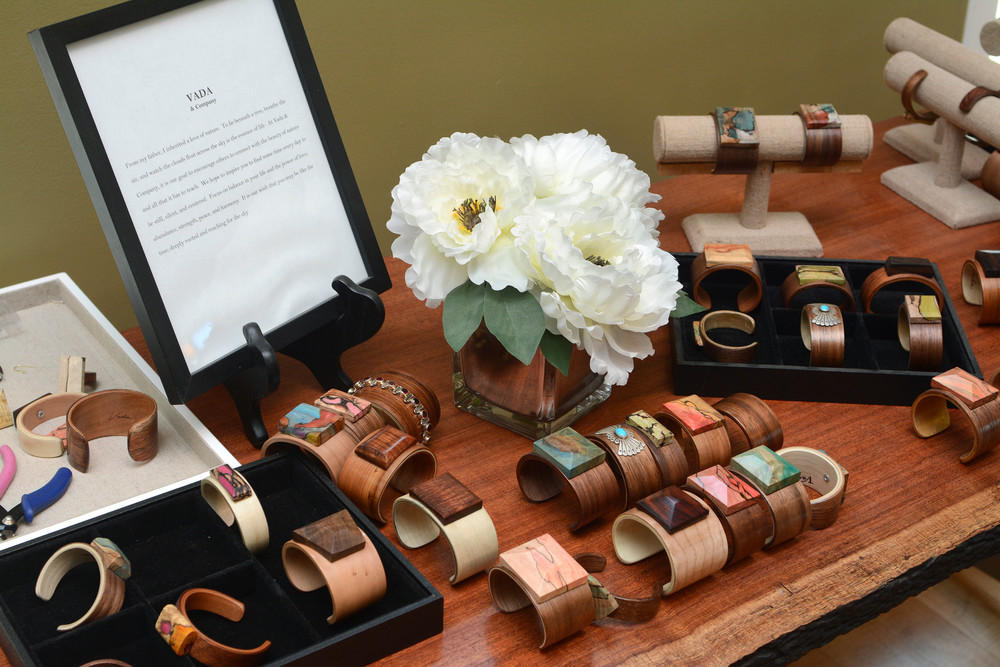 Vada and Company cuffs are a collaboration between Sells, his wife Michelle and daughter Vada.