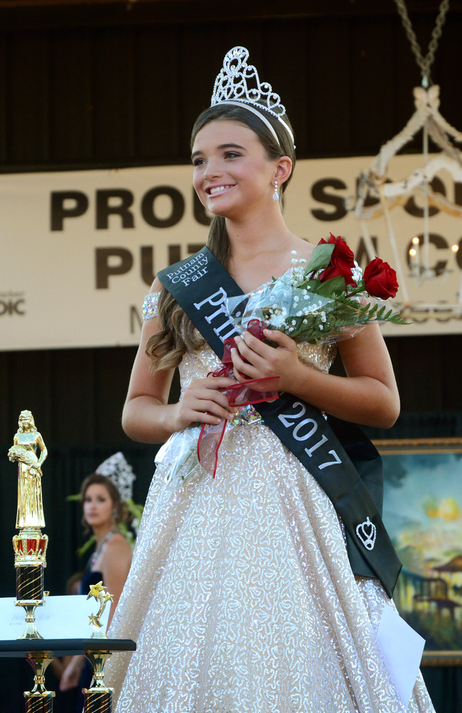 Addison Bray, 11, of Algood, daughter of Wesley and Ashley Bray, was crowned Fair Princess.