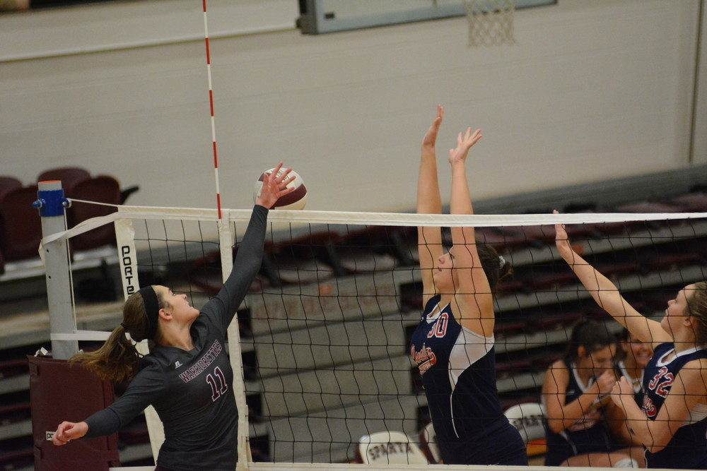 Scenes from Cookeville's volleyball match Thursday at White County.