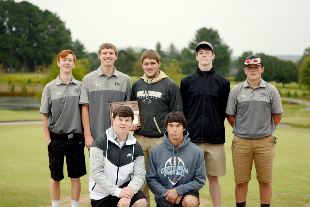 The Clay County Bulldogs finished second in the boys' divisions.