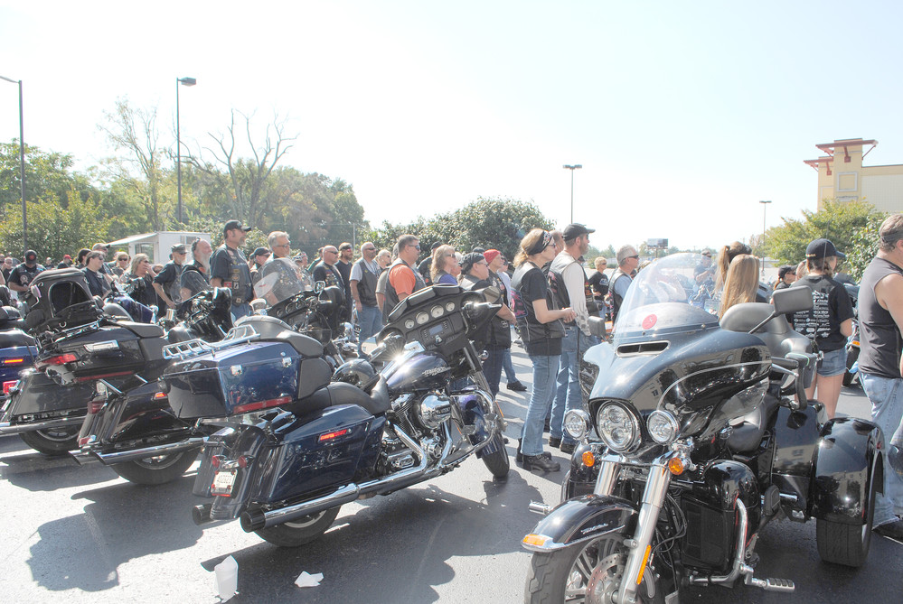About 100 bikers signed up for the annual ride, with proceeds benefitting the Upper Cumberland Fallen Officers Fund.