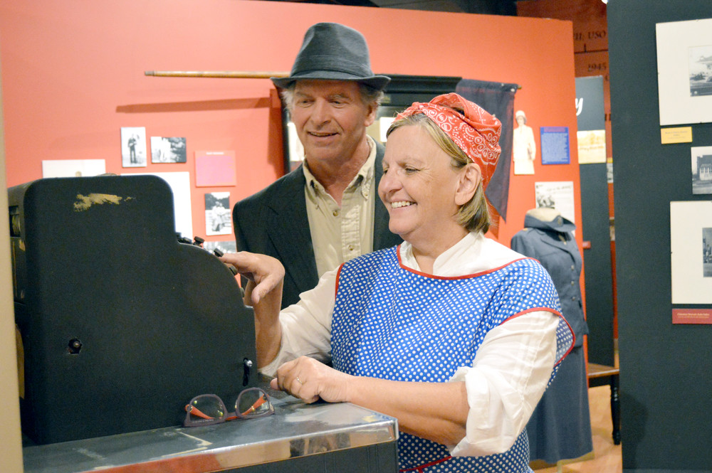Don and Julie Bohannon play Monterey citizens in Cookeville's Night at the Museums.