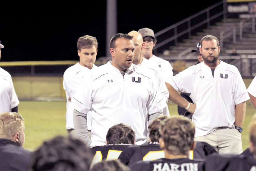 Upperman High School Coach Ben Herron has resigned as head football coach.