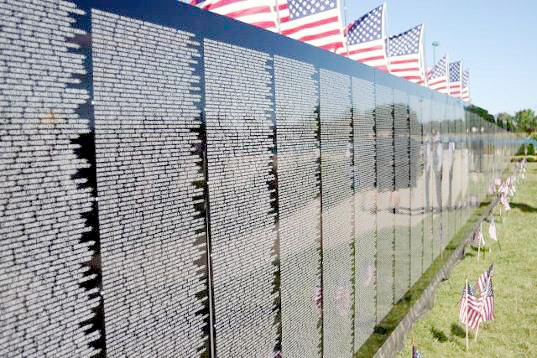 A mobile 250-foot replica of the Vietnam Veterans Memorial Wall will be stopping in Putnam County in April.