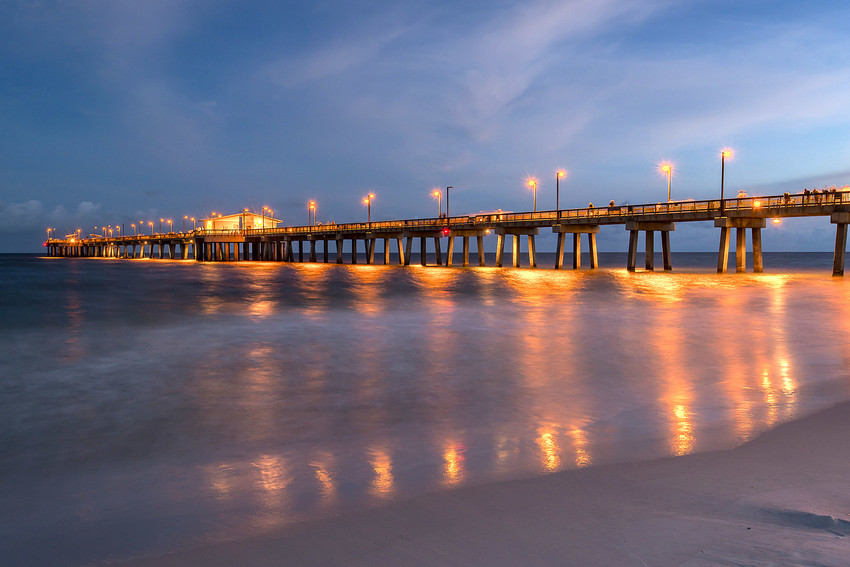 The pier at Gulf Shores, Alabama