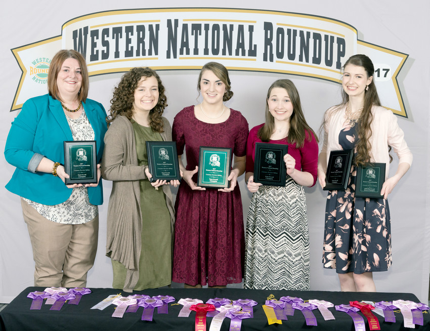 Putnam County 4-H Consumer Team was named National Champions at the contest in Denver. From left: 4-H Agent and coach Melissa Henry , Emily Welte, Hannah Steger, Shelby Mainord and Hannah Bernhardt.