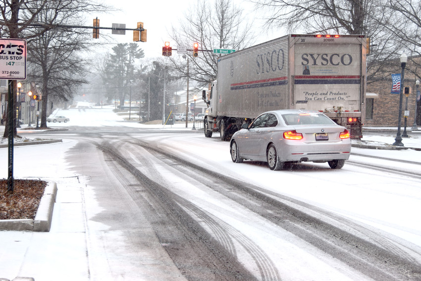 The Upper Cumberland could see some snowfall Thursday, according to the latest National Weather Service data.