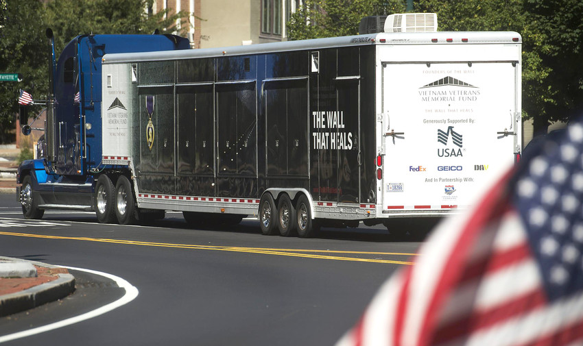 The Wall that Heals will arrive by police escort in Cookeville Tuesday and will be on display from Thursday until Sunday, April 22, at the Putnam County Sports Complex on North Washington Avenue.