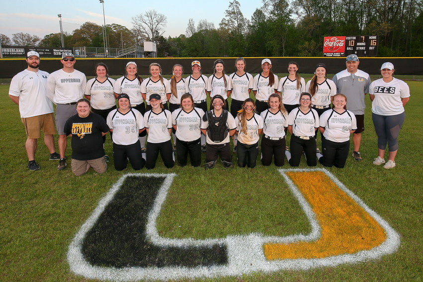 The Upperman High School Lady Bees will play in the semifinals of the District 8 AA Softball Tournament on Wednesday at 3:30 p.m.