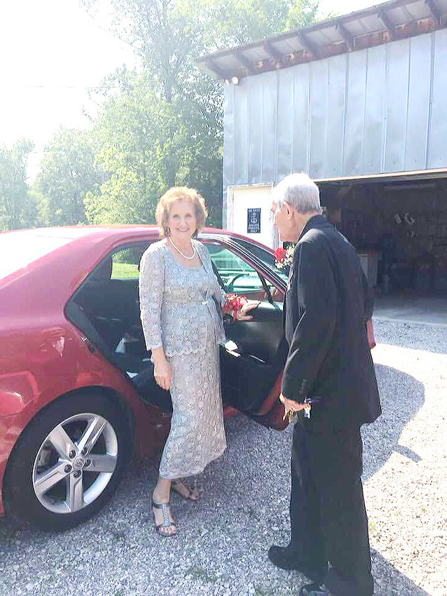 Judy Hill says that her husband, Joe, never fails to open the car door for her, and that he always has done respectful and romantic gestures like that throughout their life together.