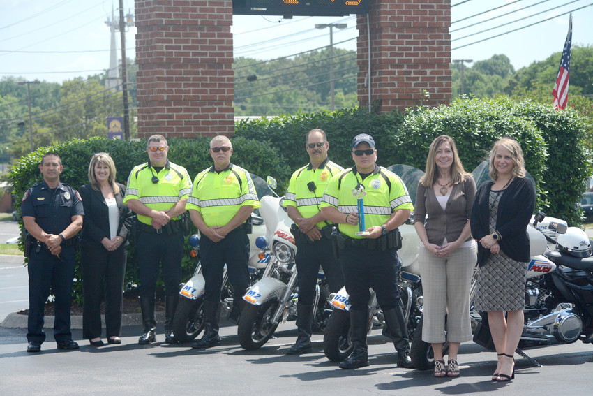 CPD officers show off skills at motorcycle competition