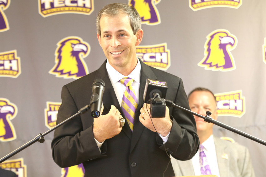 New TTU Golden Eagles Baseball Head Coach Justin Holmes