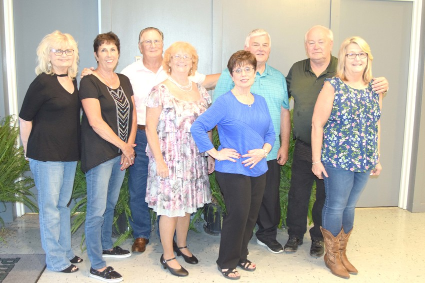 The Thursday Night Dances committee includes Marylin Roberts, Sharon Elliot, Bob Stafford, Rita Stafford, Donna Mason, Dale Groce, Doug Stewart and Kathy Stewart.