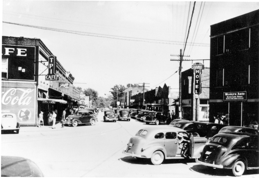 Westside in the '40s