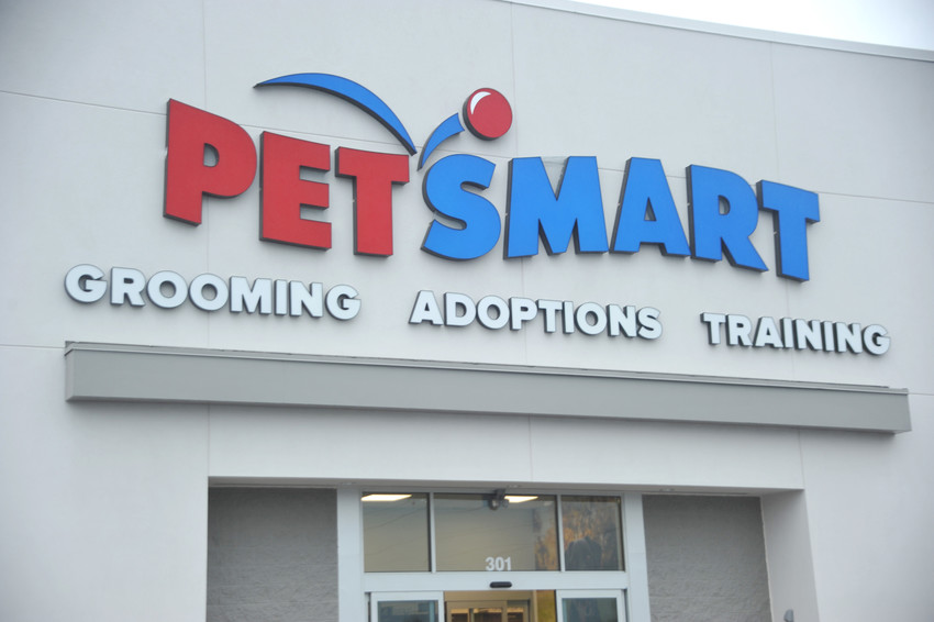 Petsmart is set to open Sept. 24 in the Shoppes at Eagle Point, and will be the third store to open in the shopping center.