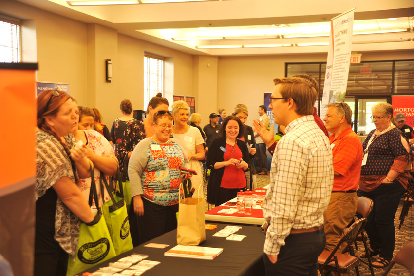 The Leslie Town Center was open late Thursday for the Bizapalooza business expo. Attendees were able to check out some of the offerings local business bring to the community.