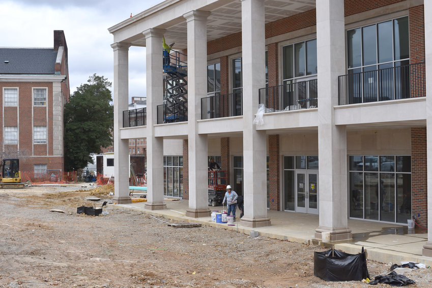 Construction crews are still working on the $7 million addition to the Roaden University Center at Tennessee Tech. The project is expected to be complete by the Spring 2019 semester with full access ready by the Fall 2019 semester.