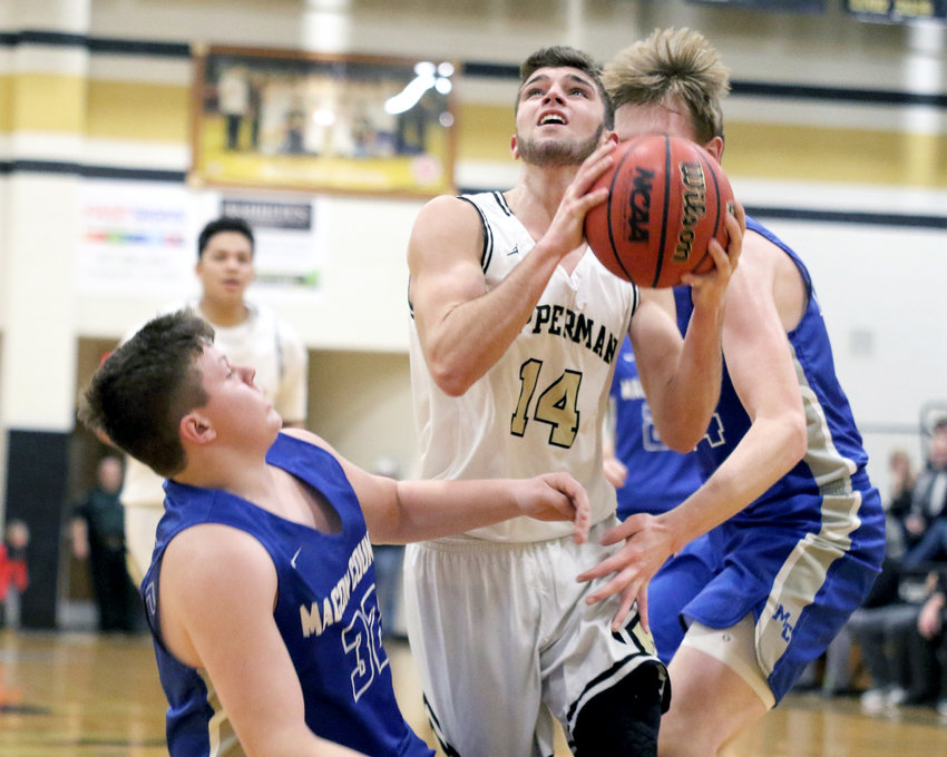 Upperman's Jaydon Kanipe will help lead the Bees into next week's district tournament.