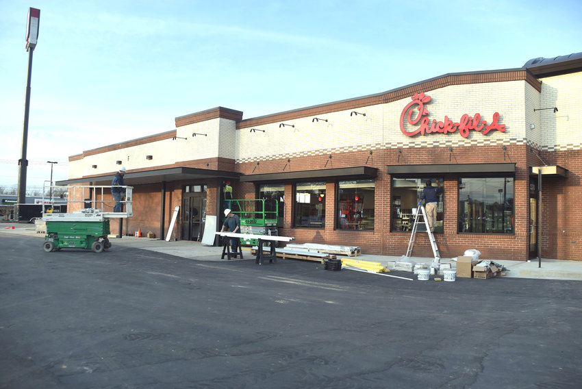 Chick-fil-A in Cookeville will have its grand reopening Friday, March 22, after being closed for renovations. The remodel includes a covered drive-thru and replaces the drive-thru window with a sliding door.