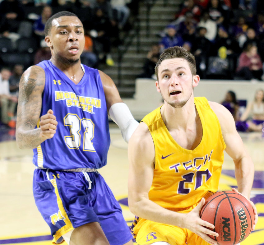 Tennessee Tech's Hunter Vick, right, and his teammates may have a new coach within a week.