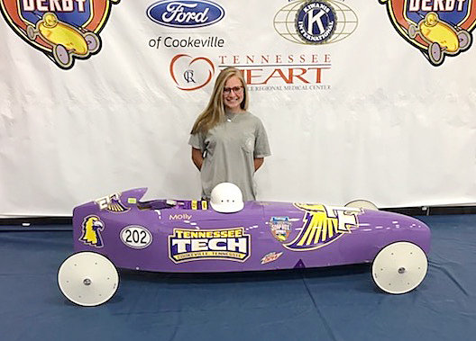 Allison to chase title in Tech-sponsored car | Herald Citizen