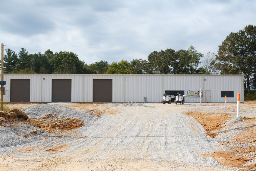 Another development is a new building at the end of Fast Lane. This will serve as an office building for PLC Traffic Control and a mechanic shop.