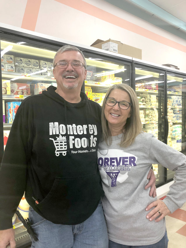 Danny and Gina Todd, owners of Monterey Foods, will be the grand marshals of this year's Monterey Christmas Parade.