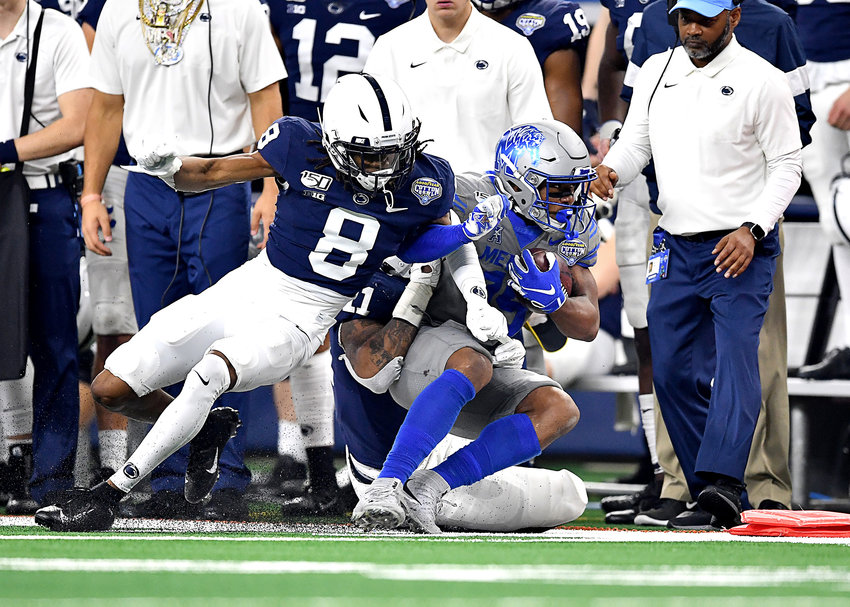 From the second half of the Cotton Bowl NCAA football game between the Memphis Tigers and the Penn State Nittany Lions Saturday, Dec. 28, 2019, at AT&T Stadium in Arlington, Texas.