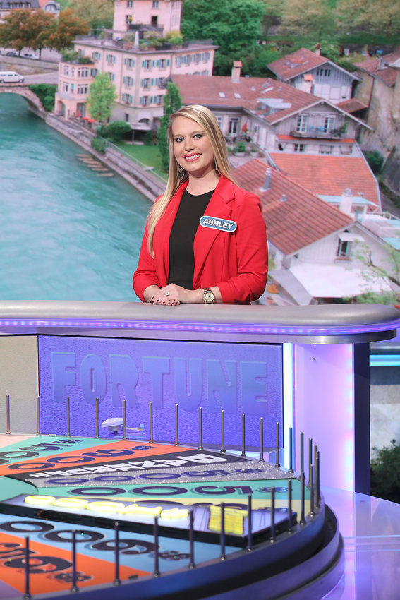 Tech nursing student Ashley Huddleston will be on Wheel of Fortune at 6:30 p.m. today.