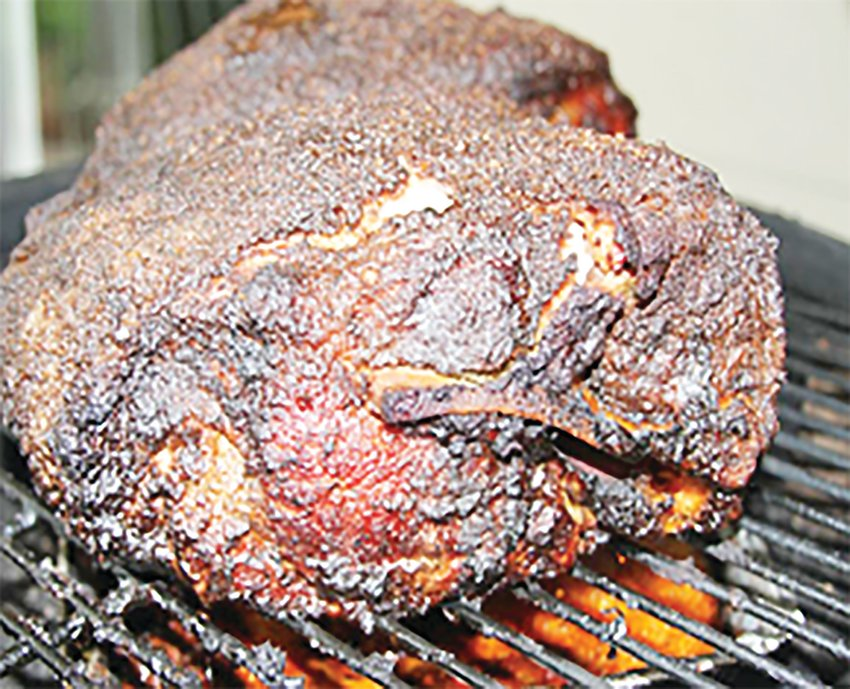 The Knights of Columbus at St. Thomas Aquinas Church will cook their Cookeville-famous Boston butts, ready for pickup Saturday, Oct. 9, between 8 a.m. and 11 a.m.