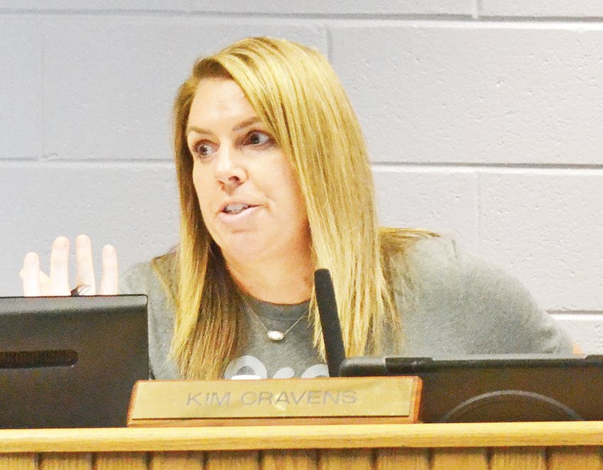 Putnam County School Board member Kim Cravens talks about the policy on out-of-county students.