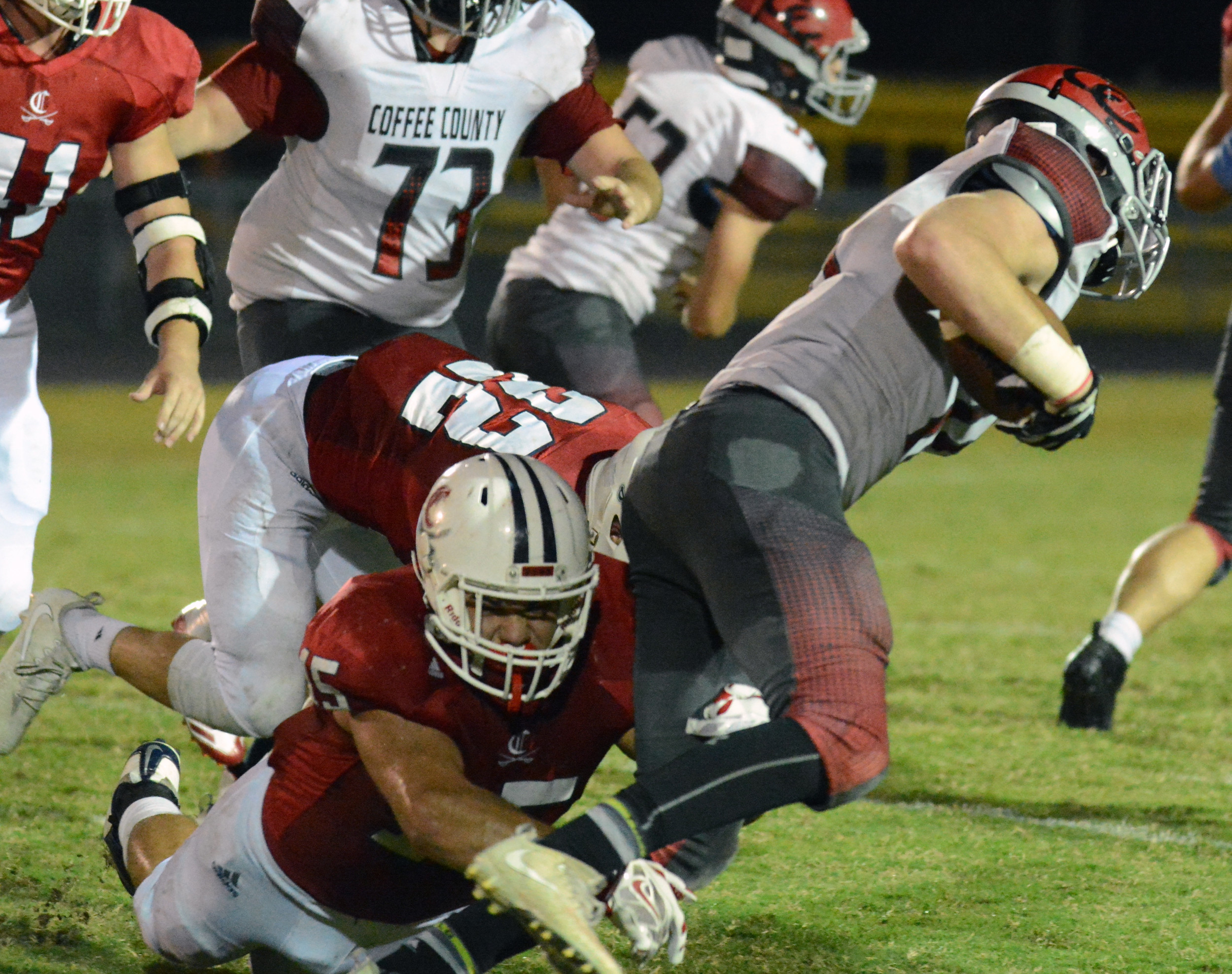 Cavs remain perfect, beat Coffee County 45-21 | Herald Citizen
