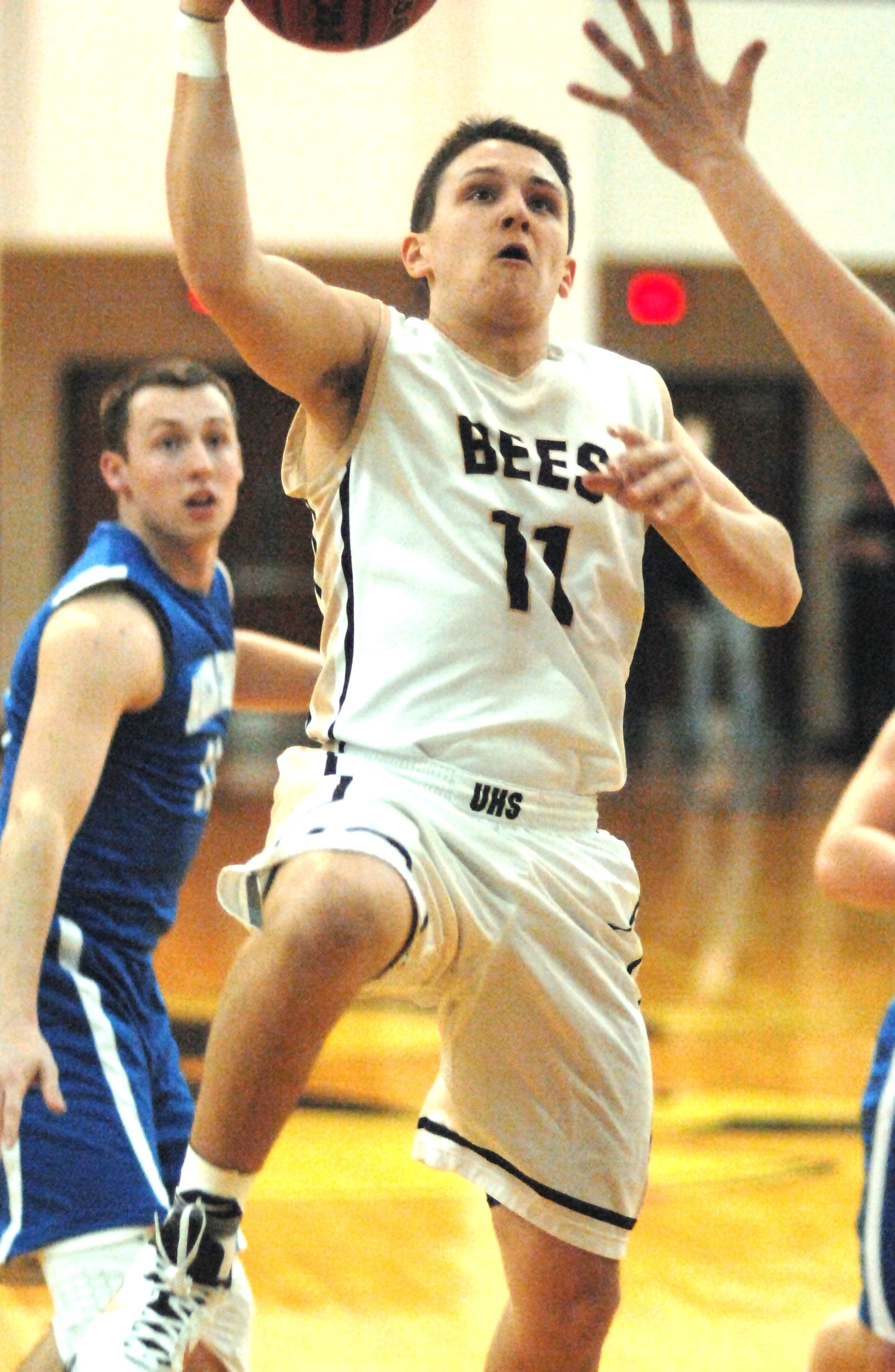 Upperman's Austyn McWilliams soars to the basket for a layup during ...
