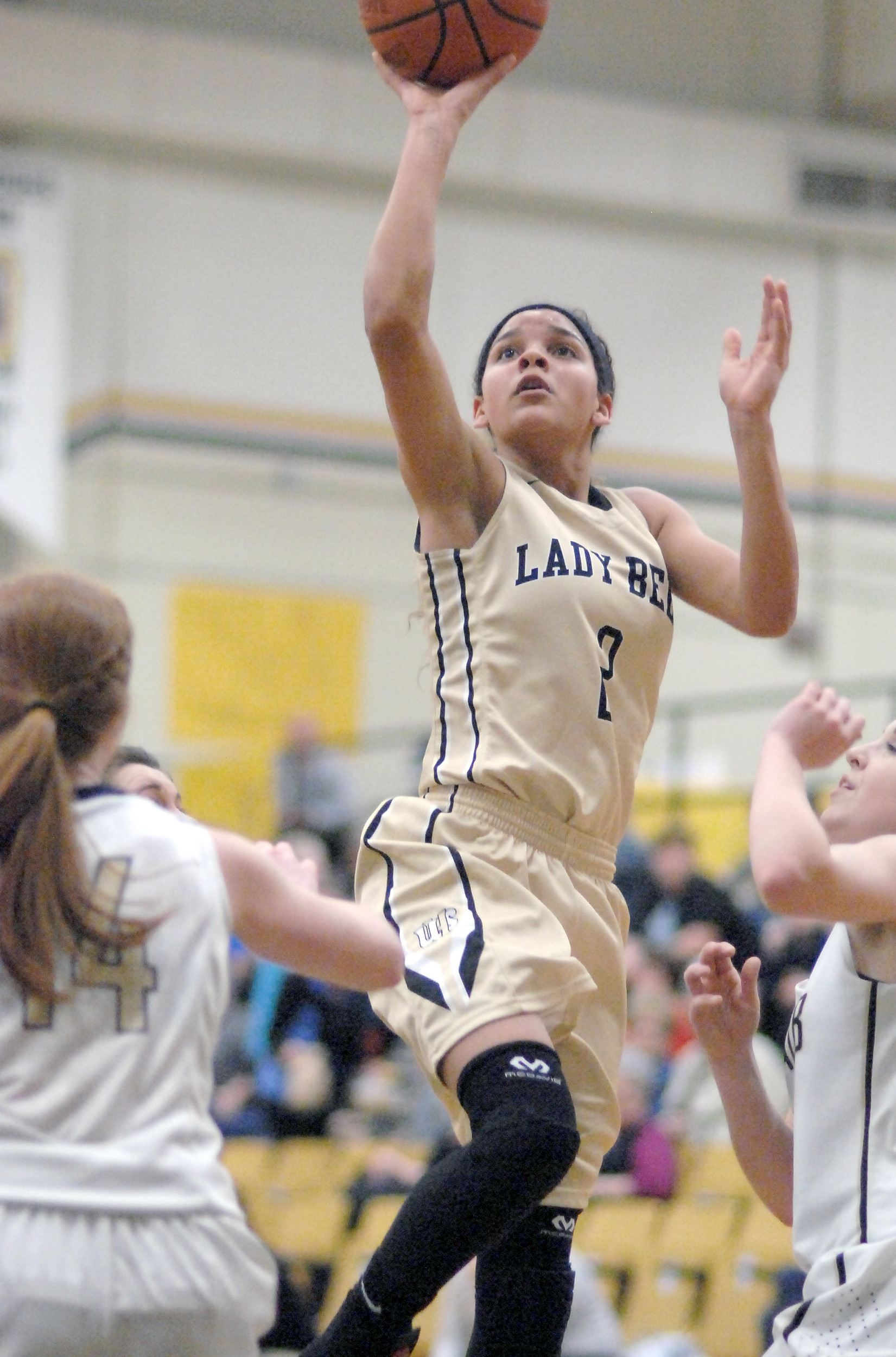 Upperman's Akira Levy led the Lady Bees on Monday with 27 points ...