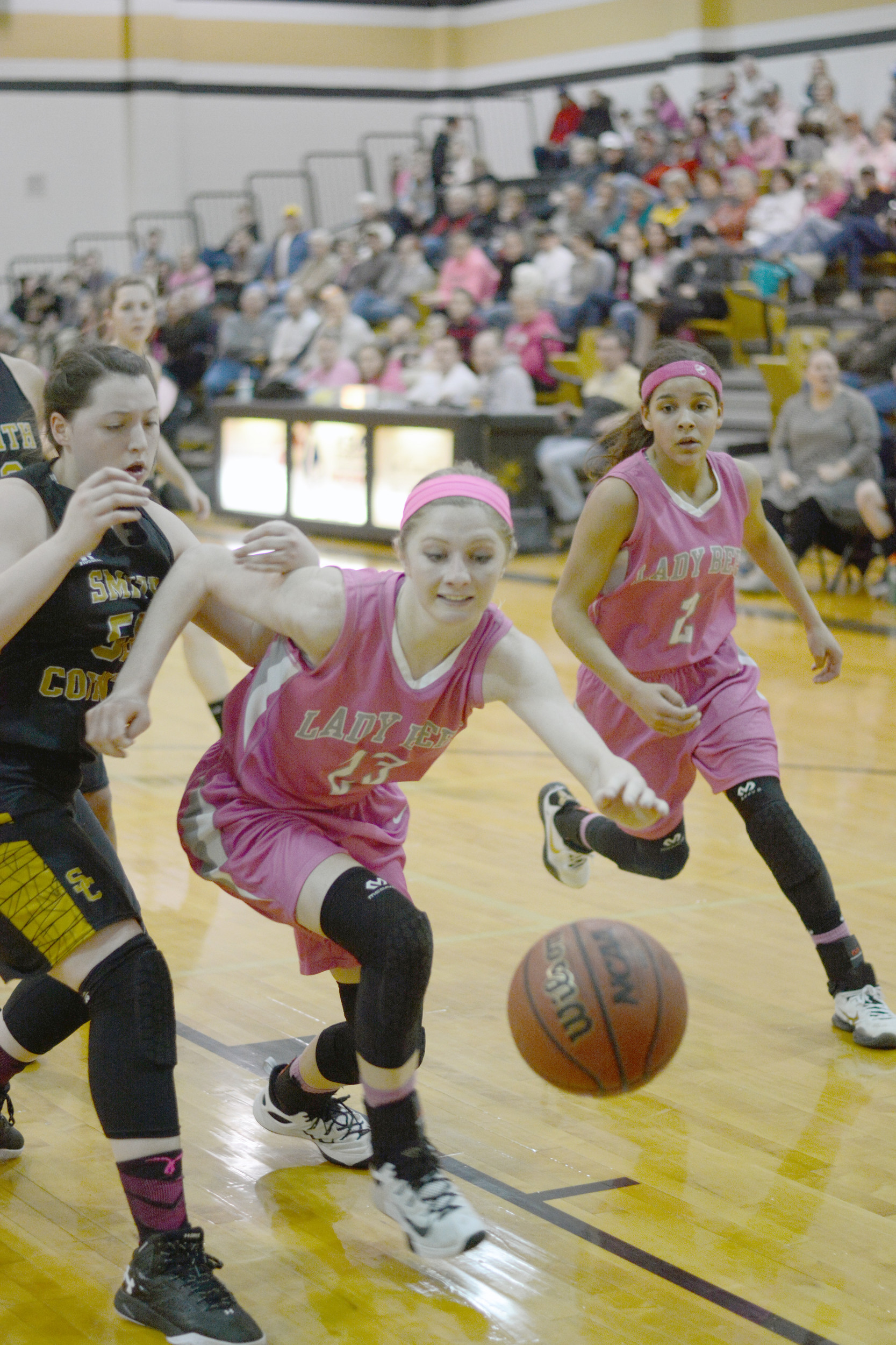 Upperman's Abby Greenwood chases down the ball during the Lady Bees 66 ...