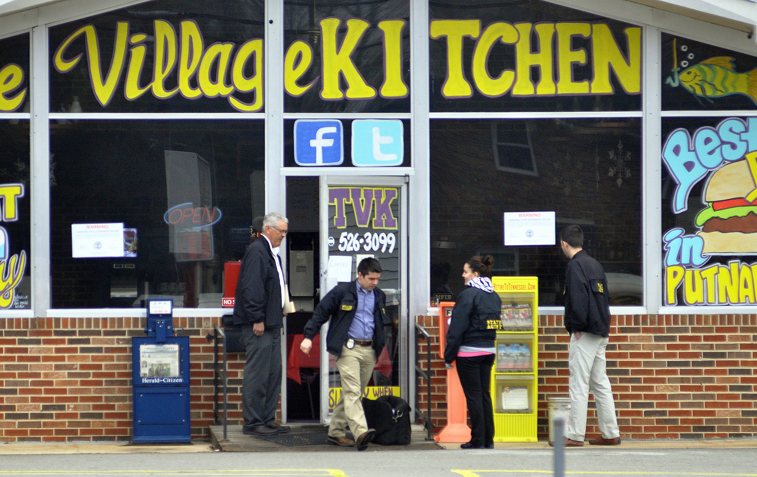 Village Kitchen seized by the state for failure to pay taxes