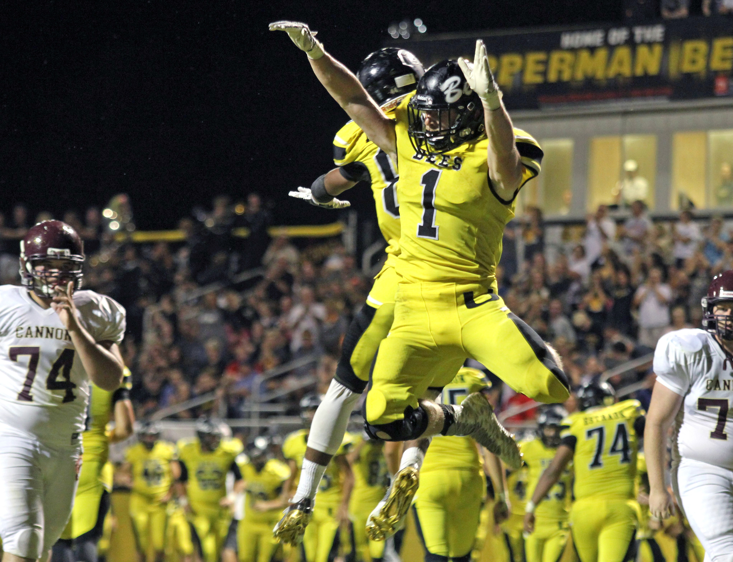 ... Bees hope to celebrate again on Friday when Upperman hosts York