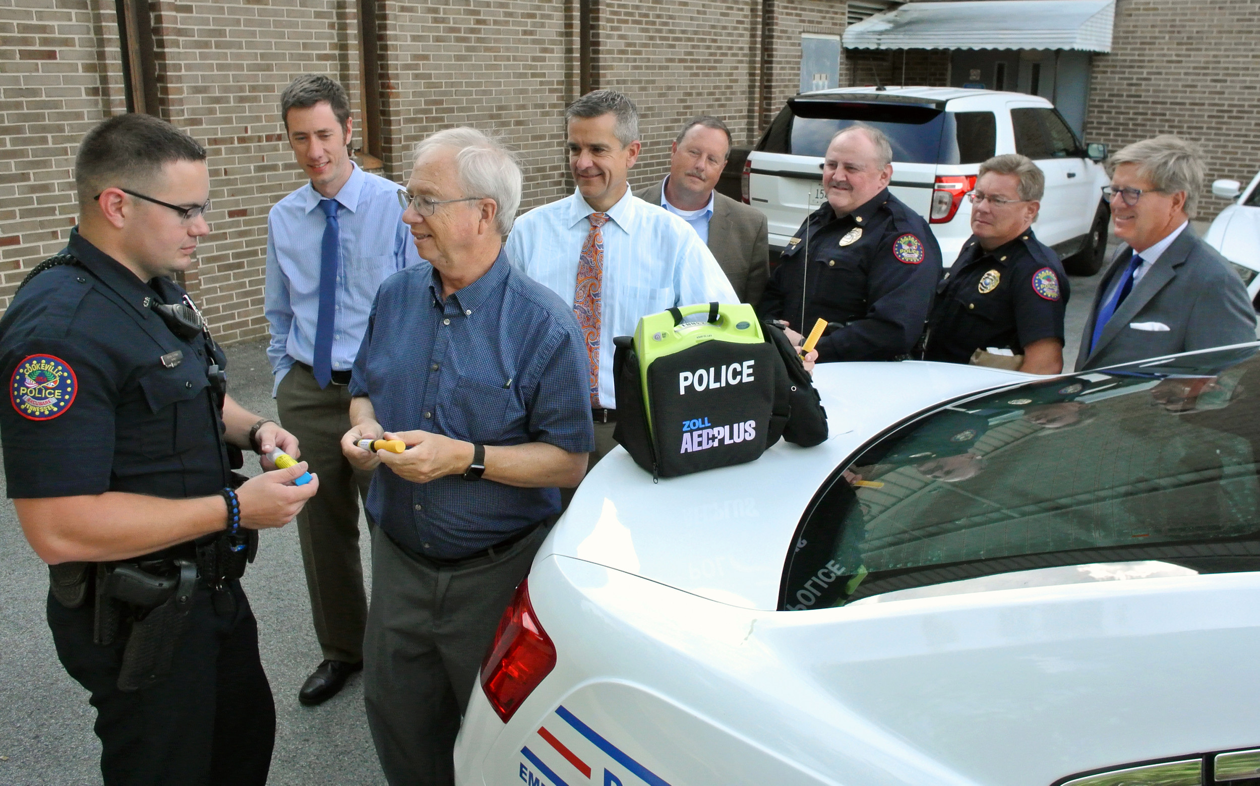 Cookeville first police department in state to get