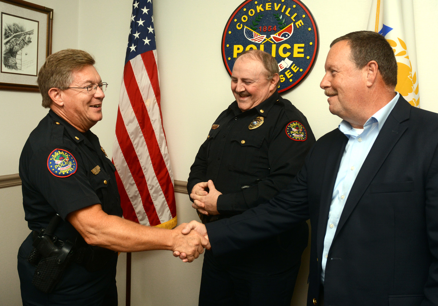 Cookeville Police Major Sells moving to city hall | Herald